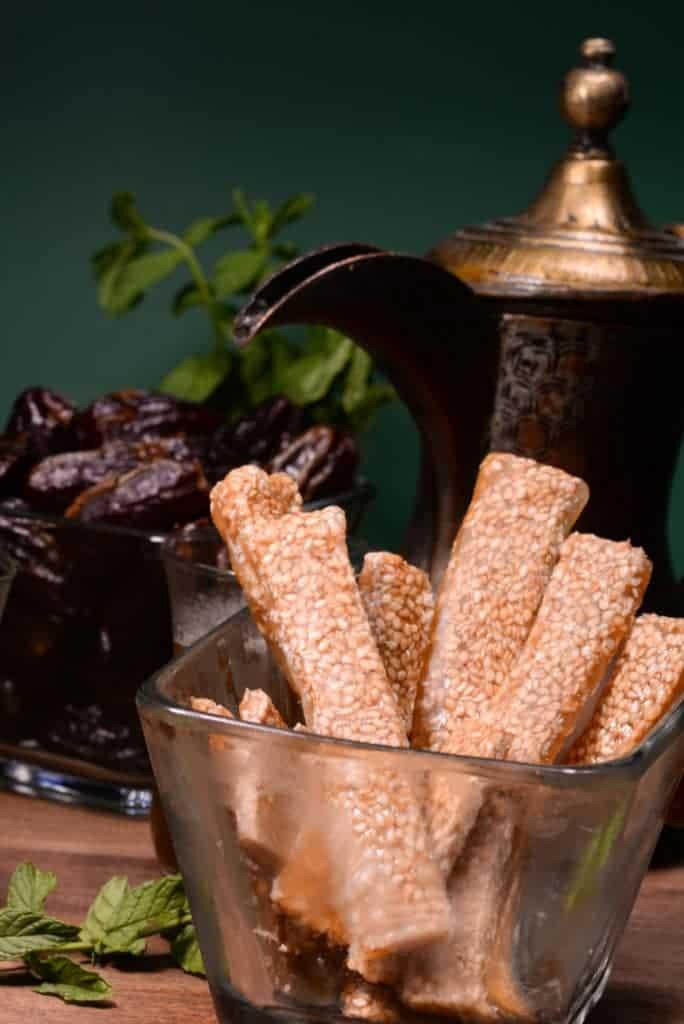 malinese sesame honey sticks