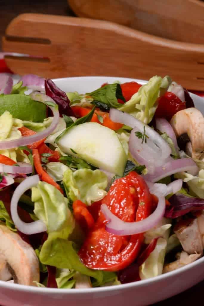 Maltese garden salad