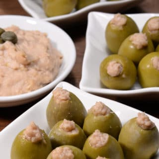 Maltese stuffed olives