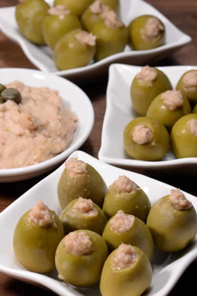 Maltese stuffed olives