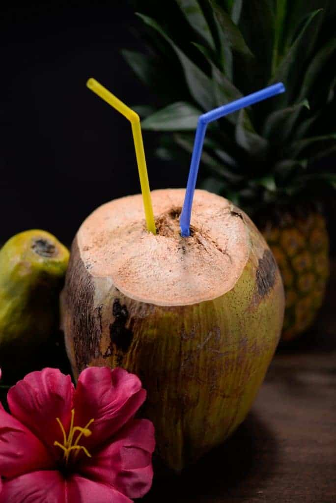 Marshallese coconut water