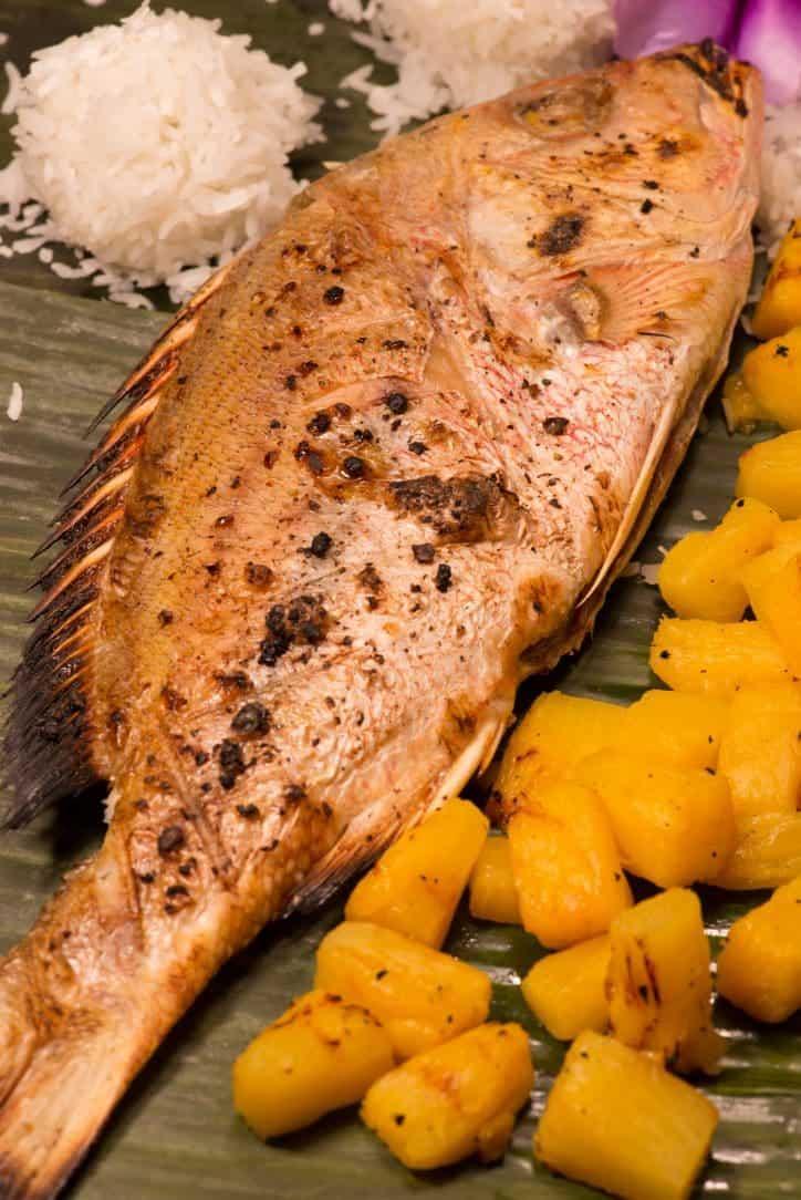 Marshallese Grilled Fish - International Cuisine