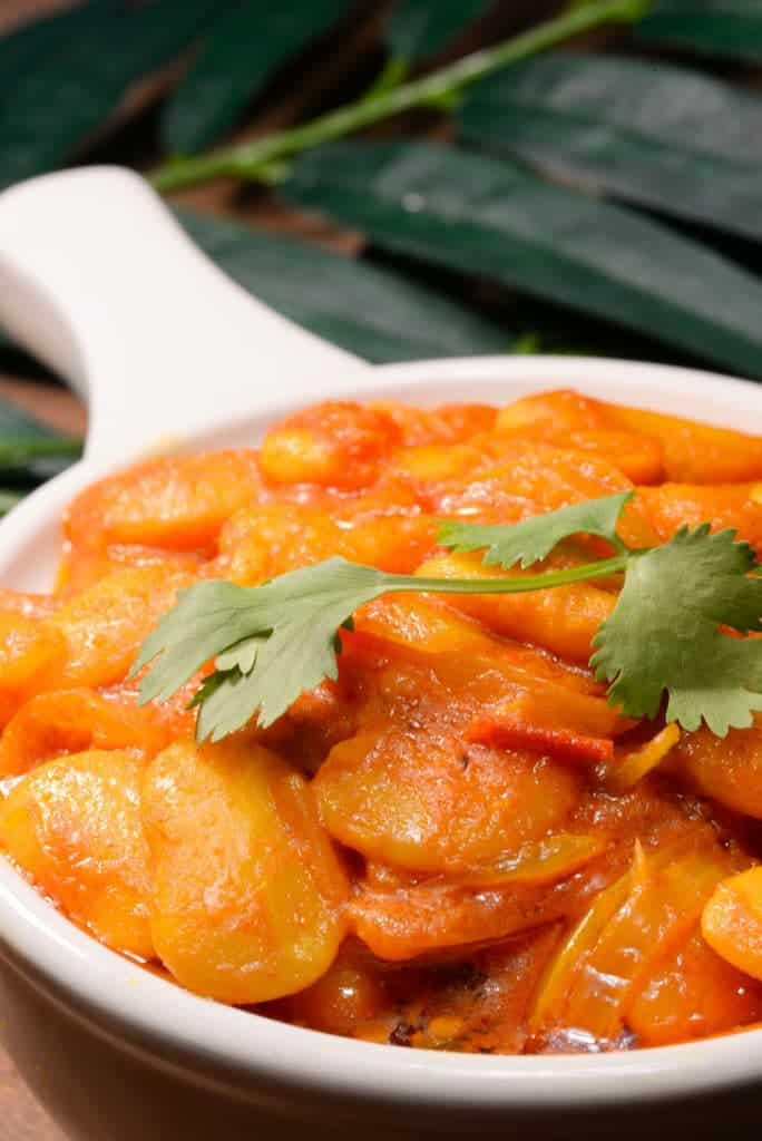 Mauritius lima bean curry