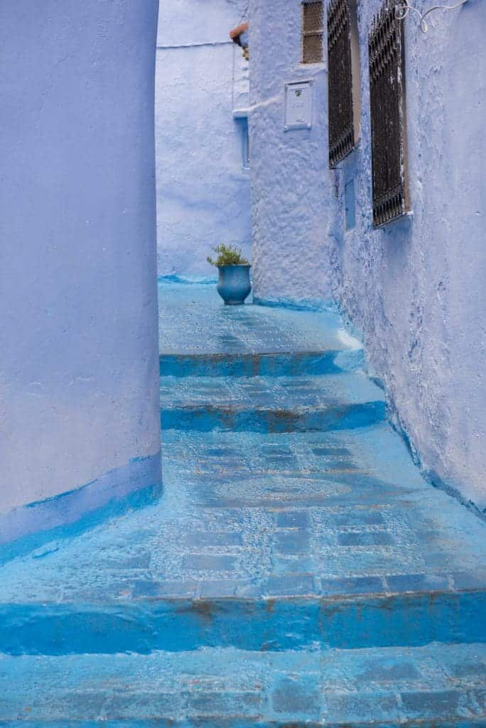 Chefchaouen a pathway