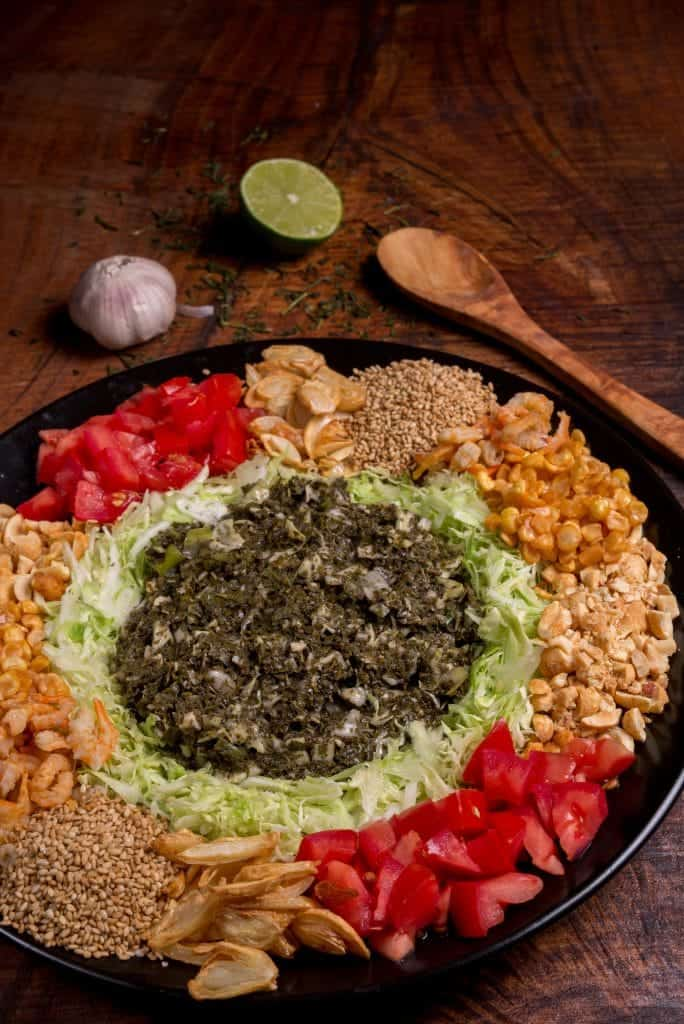Myanmar fermented green tea salad recipe