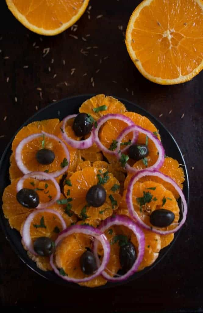 Moroccan Orange Salad