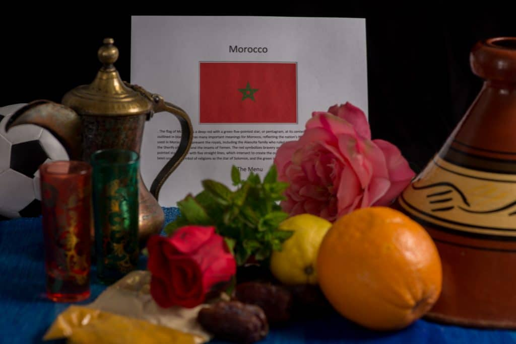 About food and culture of Morocco