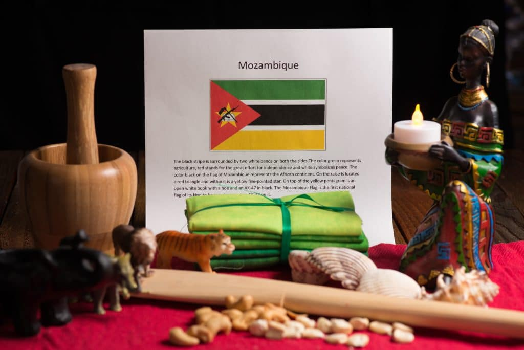 About food and cultrue of Mozambique