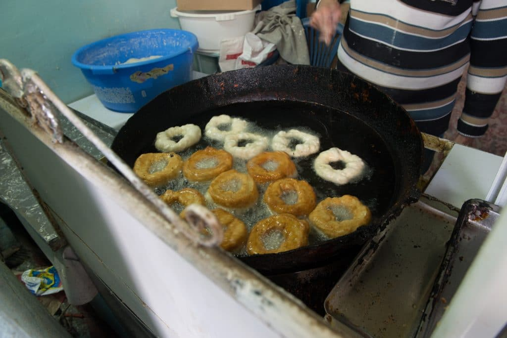 orrocan doughnuts cooking