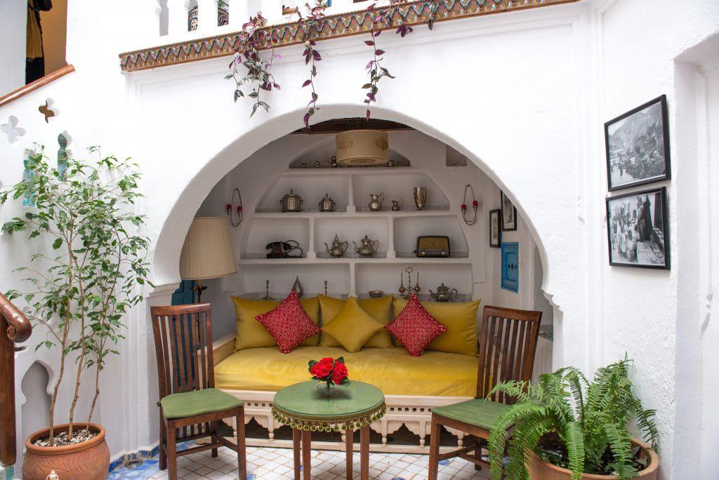 Riad Cherifa lounge area