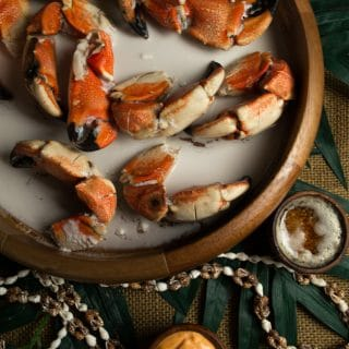 Nauru crabs in coconut milk