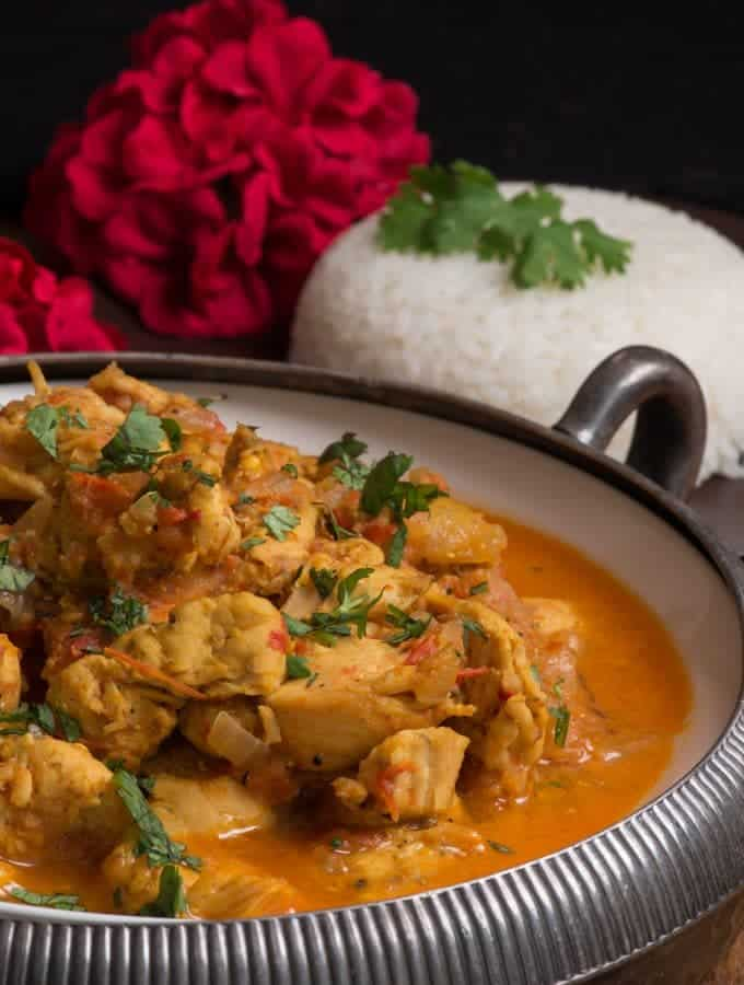 Nepali Chicken Tarkari