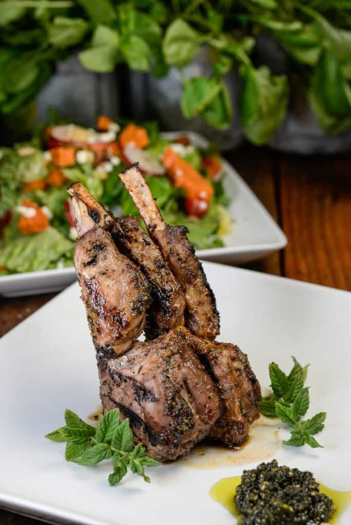 New Zealand Grilled Lamb Chops