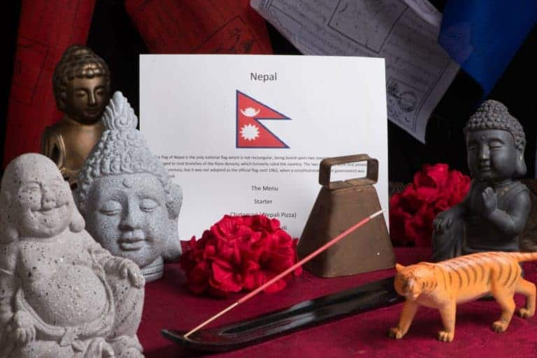 About food and culture of Nepal