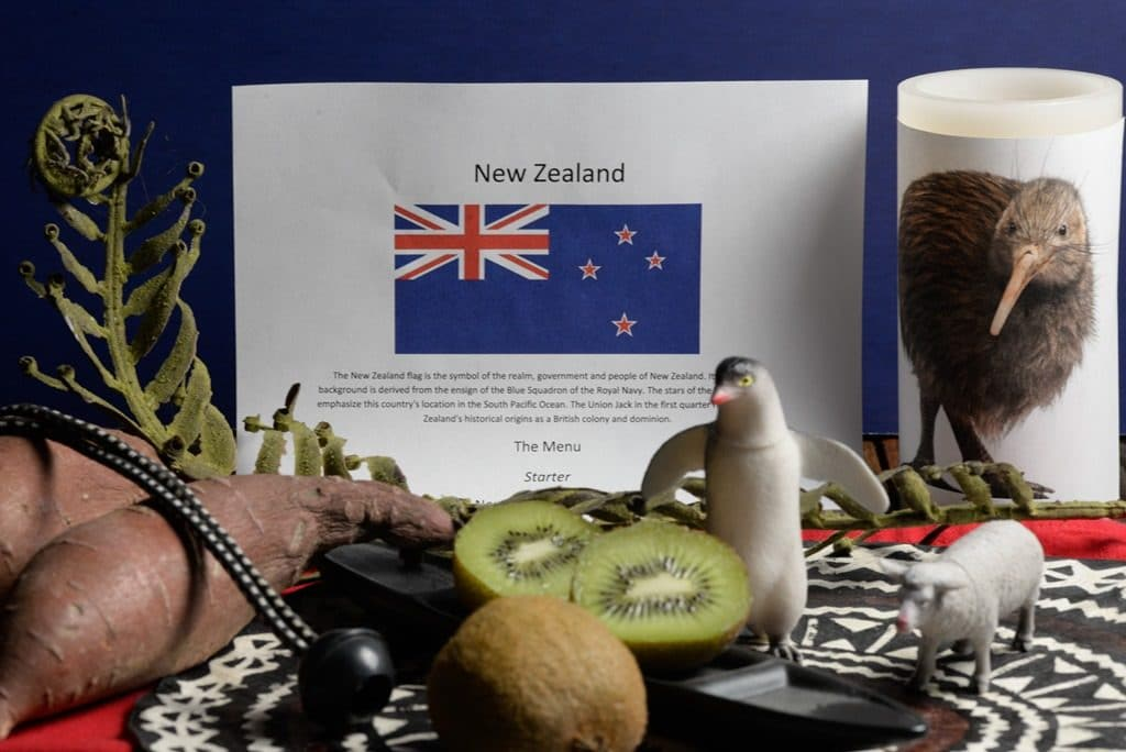 About food and culture of new Zealand