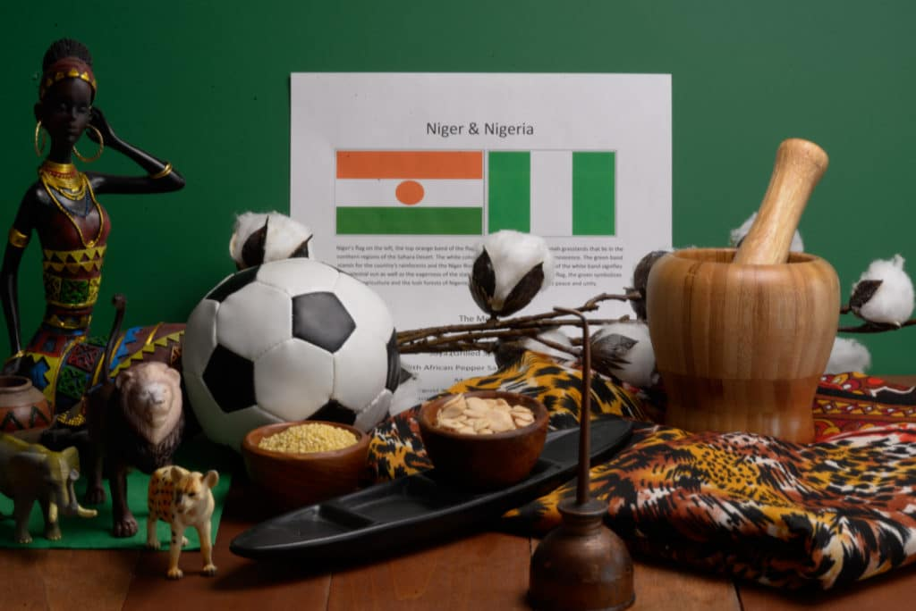About food and culture of Niger and Nigeria