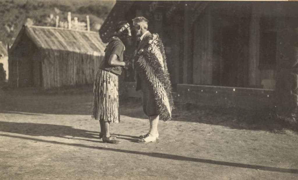 Zane Grey with Maori in New Zealand