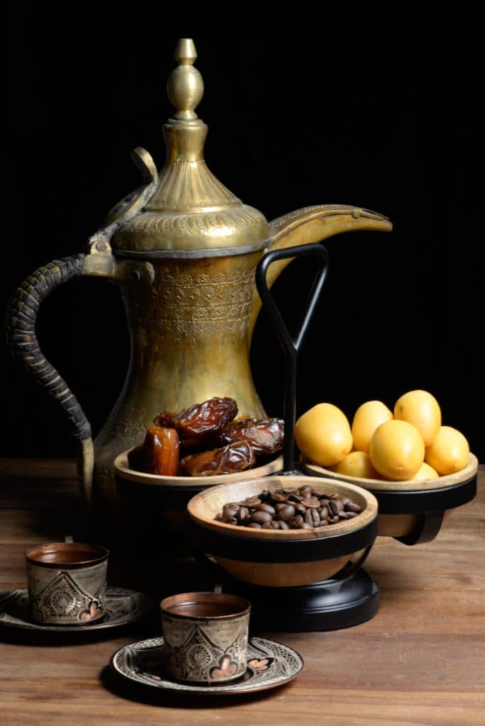 Omani coffee and dates