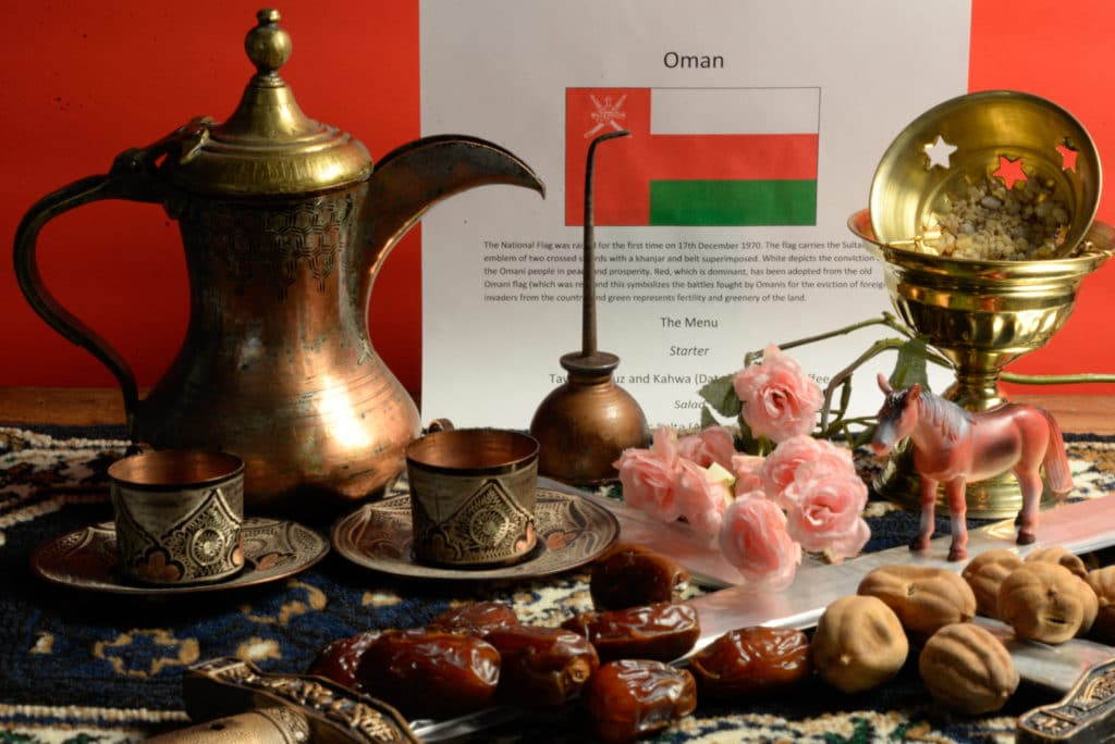 About food and culture of Oman