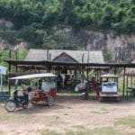 A picture of the Khmer Root Cafe in Kampot Cambodia