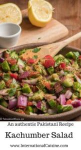 Kachumber salad p