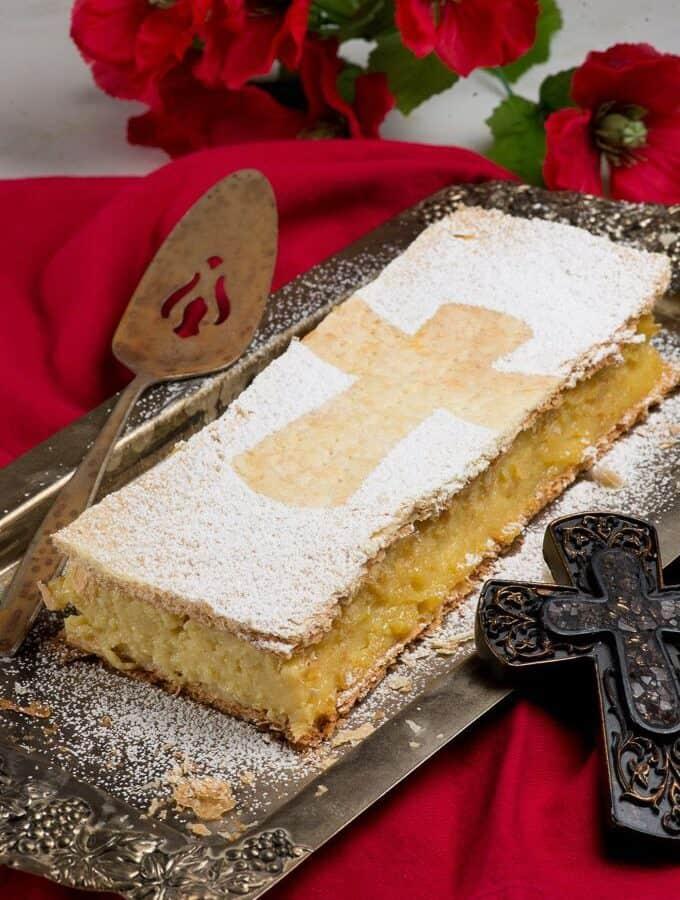 a polish cake called papal cake