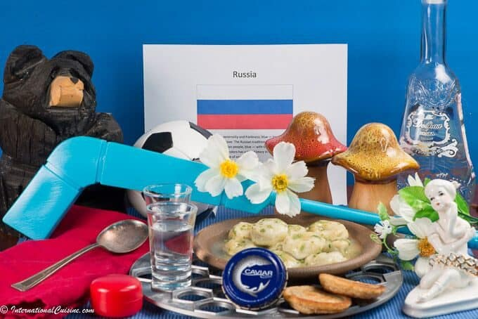 About food and culture of Russia