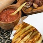 Rwandan sweet potato fries