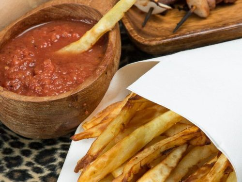 Rwandan Sweet Potato Fries Chips International Cuisine