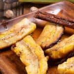 A plateful of daube de banana